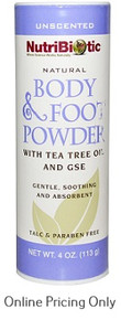 Nutribiotic Foot Powder 113g