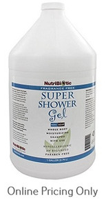 NUTRIBIOTIC SUPER SHOWER GEL 1gallon