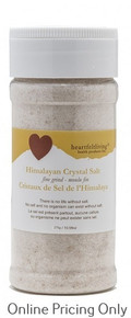HIMALAYAN CRYSTAL TABLE SALT SHAKER 275g