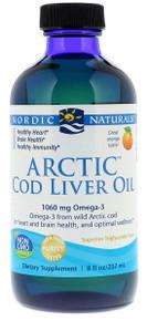 Nordic Naturals Arctic Cod Liver Oil Orange 237ml