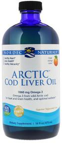 Nordic Naturals Arctic Cod Liver Oil Org 473ml