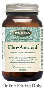 Flora Flor Antacid 446mg 60tabs