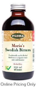 FLORA MARIAS SWEDISH BITTERS ALCOHOL FREE 250ml