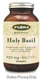 Flora Holy Basil 250mg 60vcaps