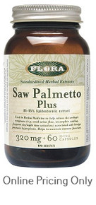 Flora Saw Palmetto Plus 60caps
