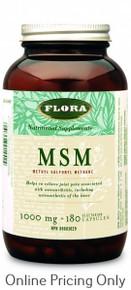 Flora MSM Powder 300g at Finlandia Health Store, Canada
