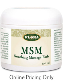 Flora MSM Soothing Rub 120ml
