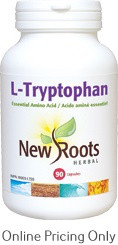 New Roots L-Tryptophan 90caps