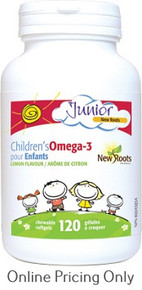NEW ROOTS CHILDREN`S OMEGA 3 CHEWABLES 120sg