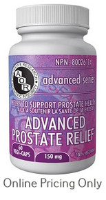 AOR ADVANCED PROSTATE RELIEF 60vcaps