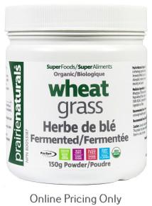 Prairie Naturals Organic Wheat Grass 150g