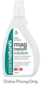 Prairie Naturals Ionic Liquid Magnesium Solution 500ml