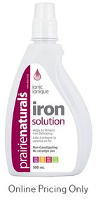 Prairie Naturals Liquid Iron 500ml