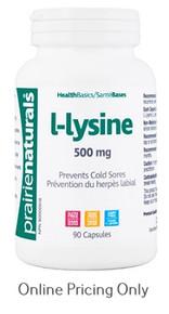 Prairie Naturals L-Lysine 500mg 90caps