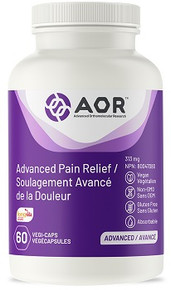 AOR Advanced Pain Relief 60vcaps