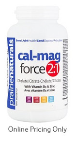 Prairie Naturals Cal Mag Force 2:1 90tabs