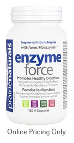 PRAIRIE NATURALS ENZYME FORCE 120vcaps