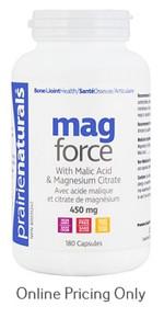 Prairie Naturals Mag Force 180caps
