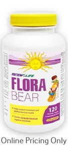 RENEW LIFE FLORA BEAR FOR KIDS 120caps