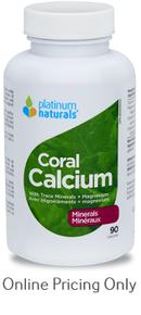 PLATINUM NATURALS CORAL CALCIUM 90caps