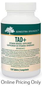 Genestra Brands TAD+ 120tabs