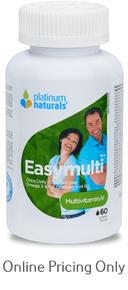 PLATINUM NATURALS EASYMULTI + OMEGA 60sg