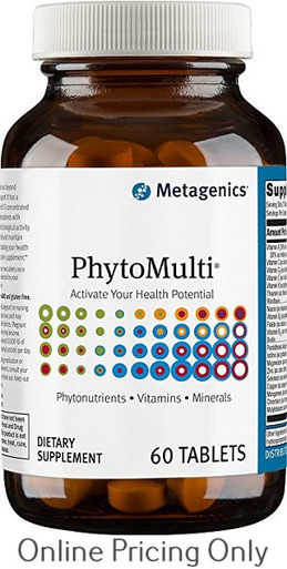 Metagenics Phyto Multi without Iron 60tabs