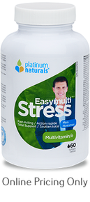 Platinum Naturals EasyMulti Stress Men 60sg
