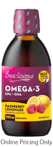Sea-licious EFA Raspberry Lemonade 250ml