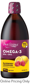 Sea-licious EFA Raspberry Lemonade 500ml