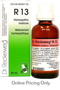 DR RECKEWEG #13 50ml