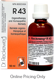 DR RECKEWEG #43 50ml