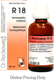 DR RECKEWEG #18 50ml