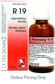 DR RECKEWEG #19 50ml