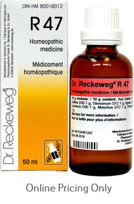 DR RECKEWEG #47 50ml