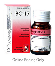 DR RECKEWEG BC-17 200tabs
