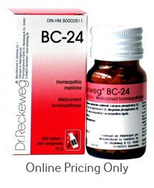 DR RECKEWEG BC-24 200tabs