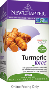 New Chapter Turmeric Force 120sg