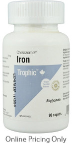 Trophic Iron Chelazome 25mg 90caps