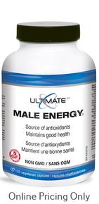 Brad King's Ultimate Male Energy 120caps