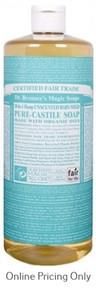 DR BRONNERS BABY MILD CASTILE SOAP 946ml