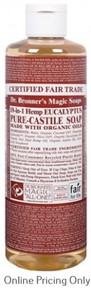Dr. Bronner's Eucalyptus Castile Soap 472ml