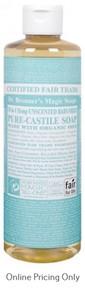 Dr. Bronner's Baby Mild Castile Soap 472ml