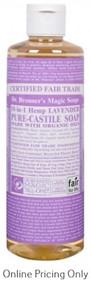 Dr. Bronner's Lavender Castile Soap 472ml