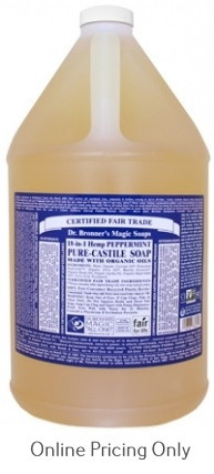 Dr. Bronner's Peppermint Castile Soap 1G