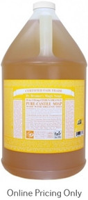 Dr. Bronner's Citrus Orange Castile Soap 1G