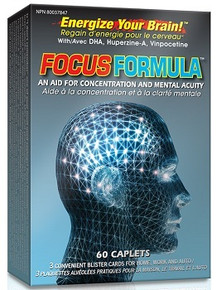 Nu-Life Focus Formula 60caps