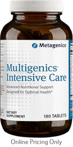 Metagenics Multigenics Intensive Care with Iron 180tabs
