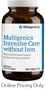 Metagenics Multigenics Intensive Care without Iron 180tabs