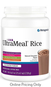 METAGENICS ULTRAMEAL RICE CHOCOLATE 728g